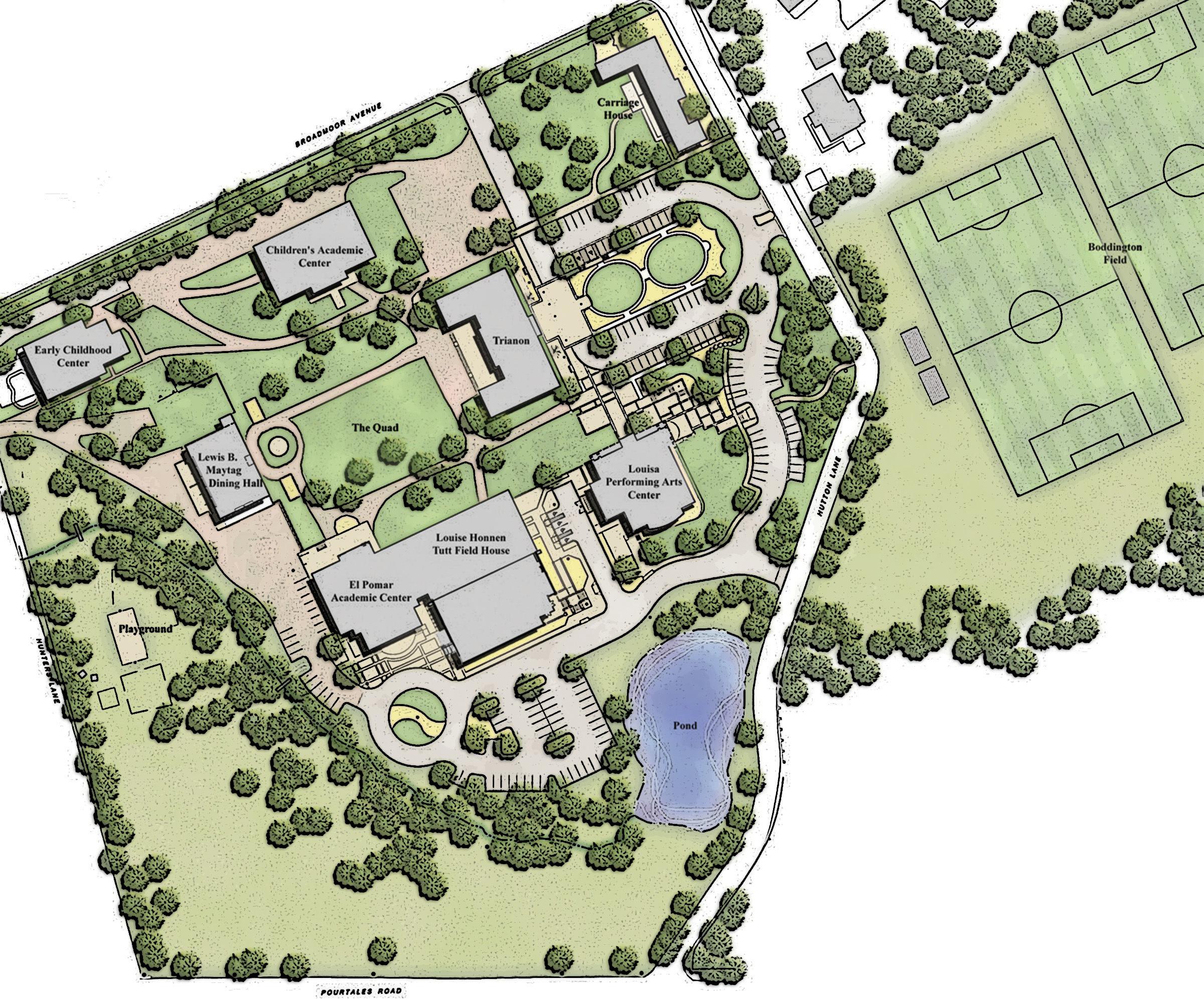 CSS Campus Map