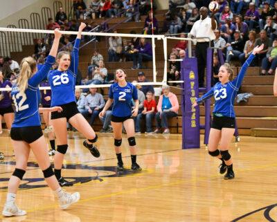 Upper School Girls' Volleyball
